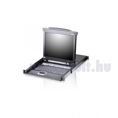 "ATEN KVM Konzol LCD 17"" + Switch 8 port - CL5708M"