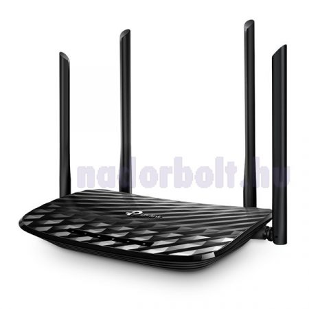 TP-LINK Wireless Router Dual Band AC1200 1xWAN(1000Mbps) + 4xLAN(1000Mbps), Archer C6