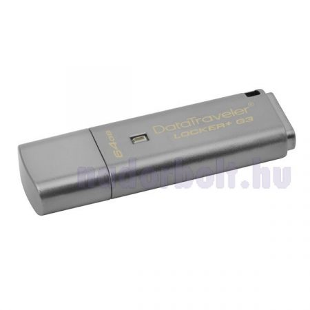 Kingston 64GB USB3.0 Ezüst (DTLPG3/64GB) Automatic Data Security Flash Drive