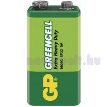 GP Greencell 9V 1604G 1db/zsugor elem