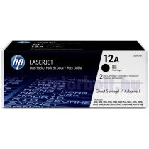 HP Q2612AD (12A) duo-pack fekete toner
